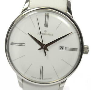 JUNGHANS Meister 047.4569 white Dial Quartz Ladies Watch_467605