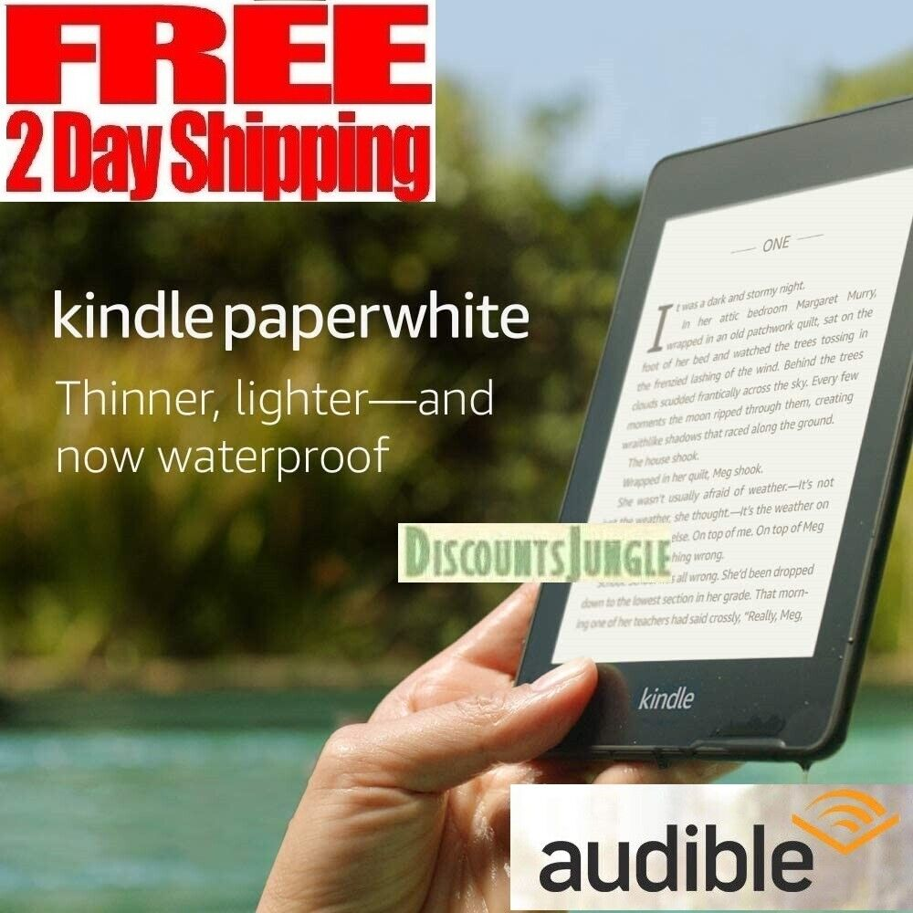 Kindle Paperwhite 32GB 10th Generation Waterproof < than 2x Storage Ad-Supported. Buy it now for 139.95