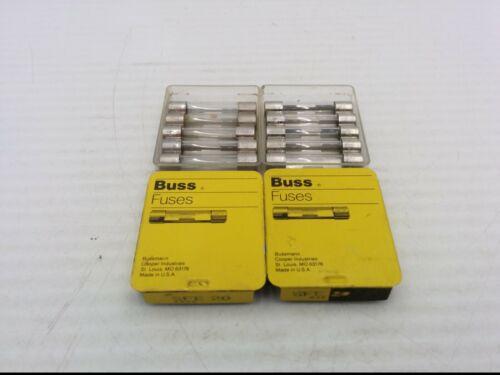 20A 32V 5 PIECES PER PACK, NIB LOT OF 2 Details about  /BUSSMANN SFE 20 GLASS FUSES