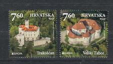 CEPT Croatia Kroatien 2017 1104-05  MNH ** Castles