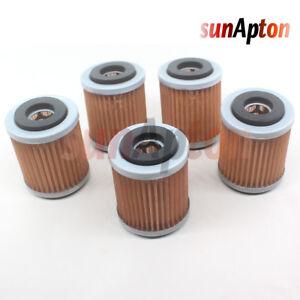 5-Pack-Oil-Filter-for-Yamaha-Warrior-YFM350-YFM350X-YFM35-350-1987-2004-ATV