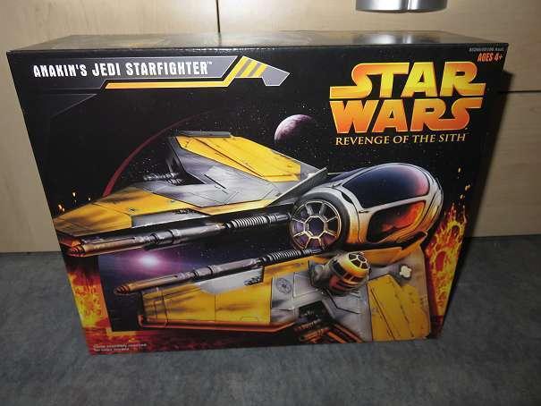 Star Wars Hasbro Anakins Jedi Starfighter Revenge of the Sith OVP