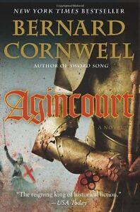 Agincourt-by-Bernard-Cornwell