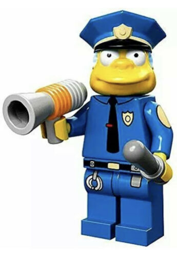 LEGO Chief Wiggum NEW Series 1 The Simpson's Collectible Minifigures