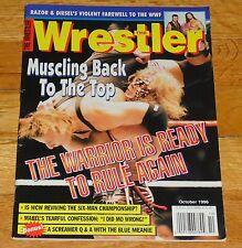 1996 Wrestler Magazine WWF NWA WWE Ultimate Warrior Rey Mysterio Curt Hennig WCW