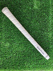 Golf-Pride-Tour-Wrap-2G-White-Midsize-60R-Grips-Genuine