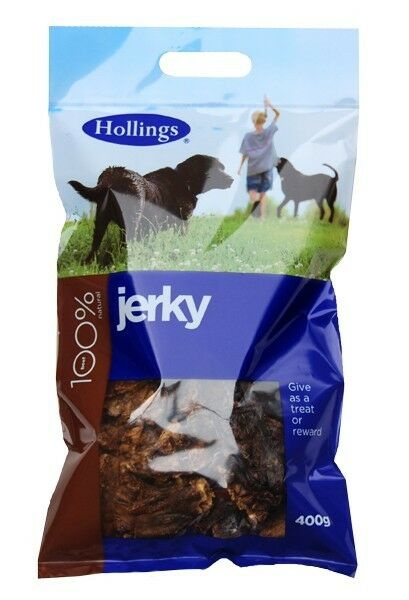 Puffed Jerky Low in fat Beef Chews Treats for dogs 400g