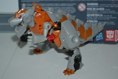 Transformers Robots in Disguise GRIMLOCK Complete Warrior Class Rid