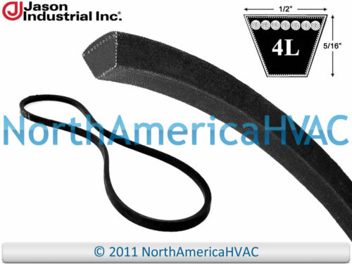 """Carrier Bryant York Industrial V-Belt P465-4L640 P463-A62 S1-A62 1//2/"""" x 64/"""""""