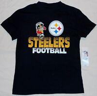 Pittsburgh Steelers Nfl Team Apparel Short Sleeve T Shirt Youth S M L Xl Black