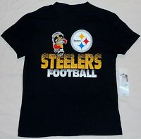 Pittsburgh Steelers Nfl Team Apparel Short Sleeve T Shirt Youth S M L Xl Black