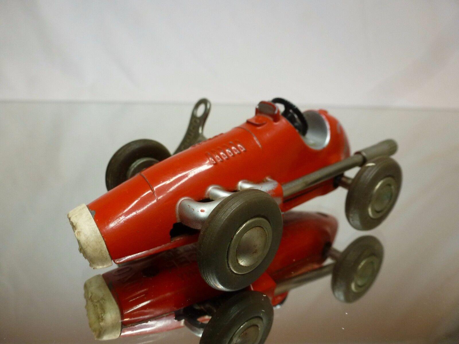 SCHUCO 1040 1040 1040 MICRO RACER + WINDUP KEY - rosso L9.0cm - GOOD CONDITION fb46fe