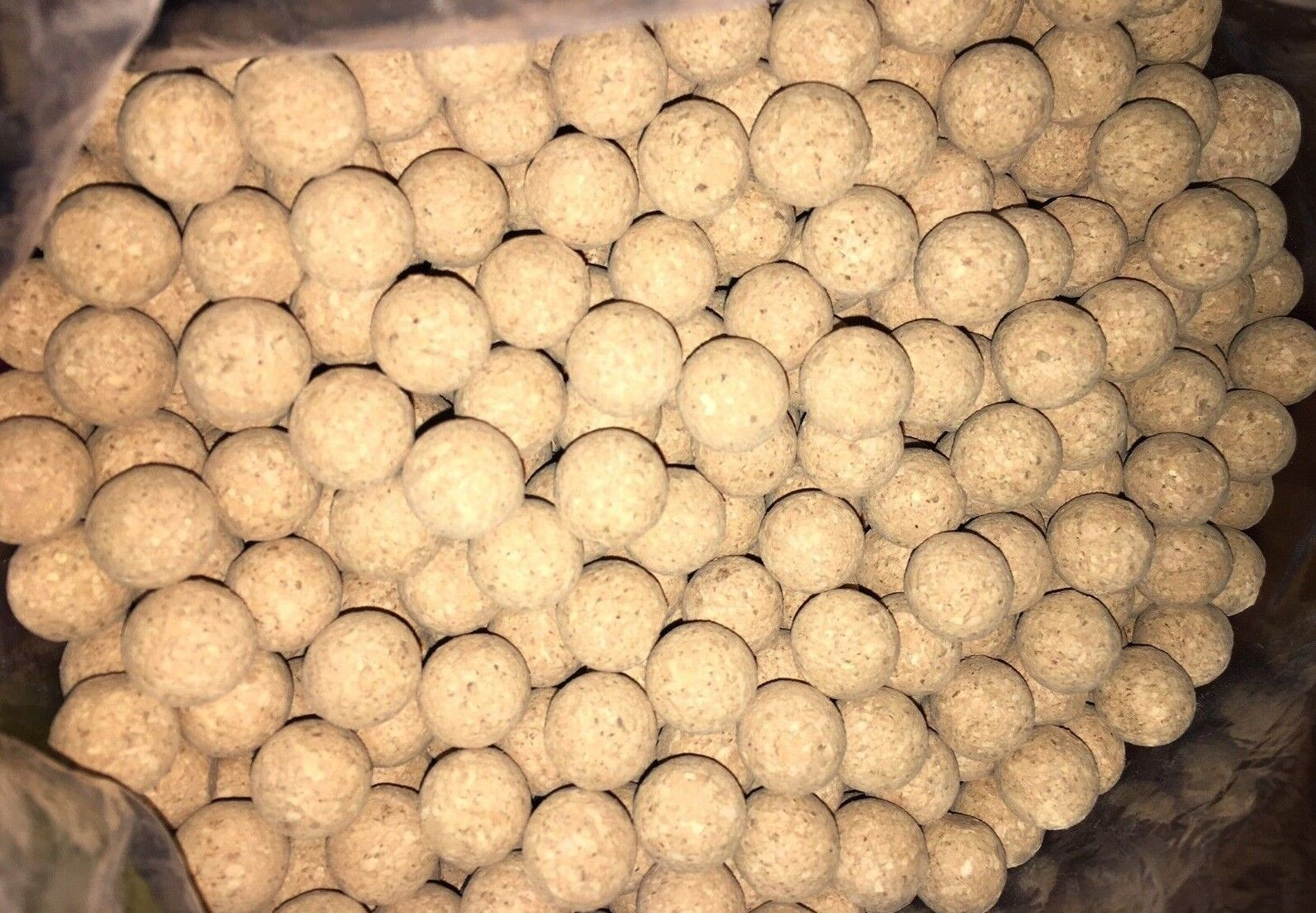 Cork Balls Agglomerated 15 mm - 10  30  100  500