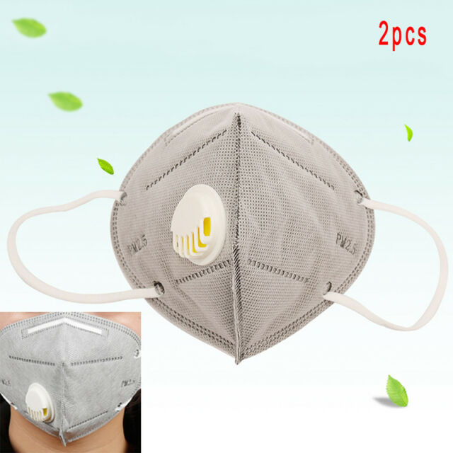1pc Pm2.5 Anti Haze Mask With A Breathing Valve Activated Carbon Filter Respirator Mask Anti-dust Mouth Mask Personal Health Care Back To Search Resultsbeauty & Health