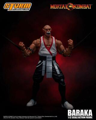 STM87091 Storm Collectible Mortal Kombat VS Series Baraka 1//12 Scale Figure