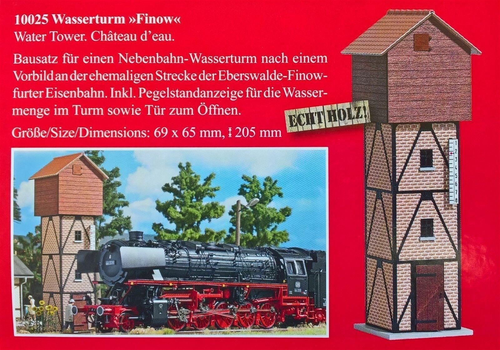 Busch 10025 -- Torre d'acqua, traccia 0