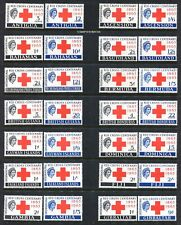 British Colonies-1963 Red Cross Centenary Omnibus Issue, QII-MNH