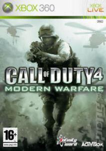 XBOX-360-Call-of-Duty-4-Modern-Warfare-condizione-molto-buona-1st-Class-consegna