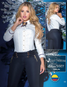 Colombian Fashion Blouse NEW Spring 5007