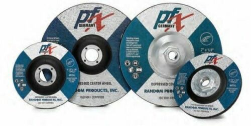 6 x 1//4 x 7//8 Type 27 Depressed Center Grinding Wheel 25//Box