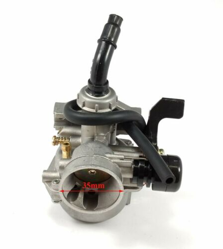 110cc ATV Go Kart Dirt Bike US Seller 19mm Carburetor Right Hand Choke fit 50cc
