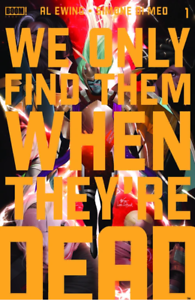 We Only Find Them When They/'re Dead #1 InHyuk Lee GlTD Virgin Variant NM PRESALE