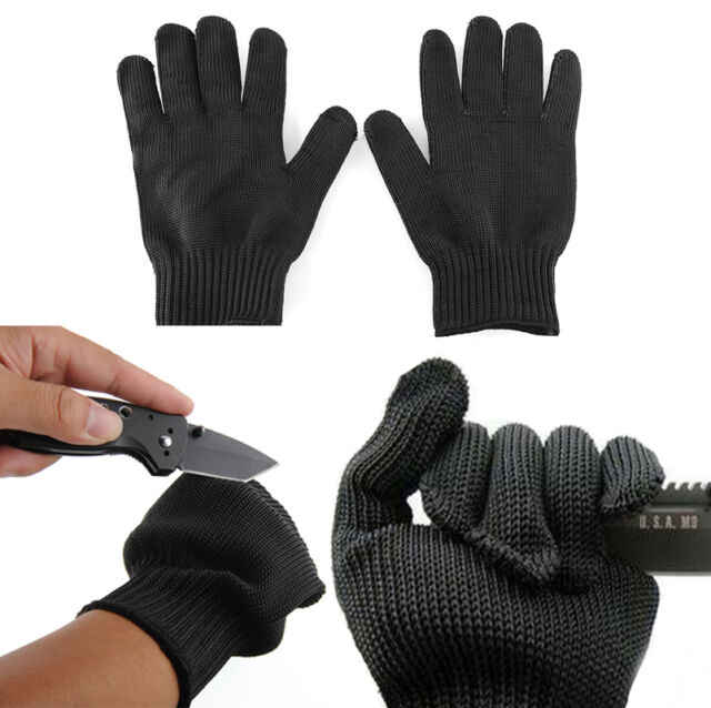 Gants Protection Anti-Coupure Jardinier/Vendangeur/Brocoleur Acier Inoxydable