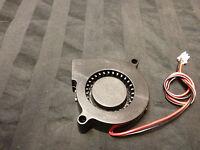 1pcs 1x Dc 5015s 12v 50mm X 15mm Turbine Brushless Cooling Blower Fan B16