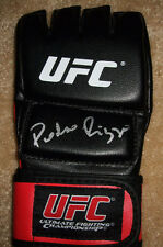 Pedro Rizzo Signed UFC OP Glove w/ Exact PROOF Autographed Trains Anderson Silva