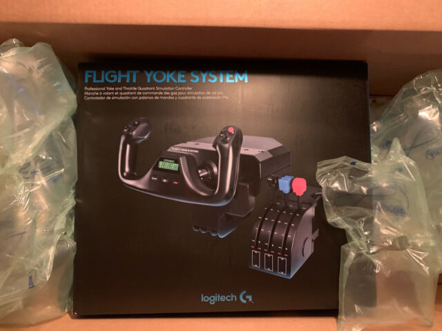 Logitech (Saitek) Pro Flight Yoke System with Throttle - Black