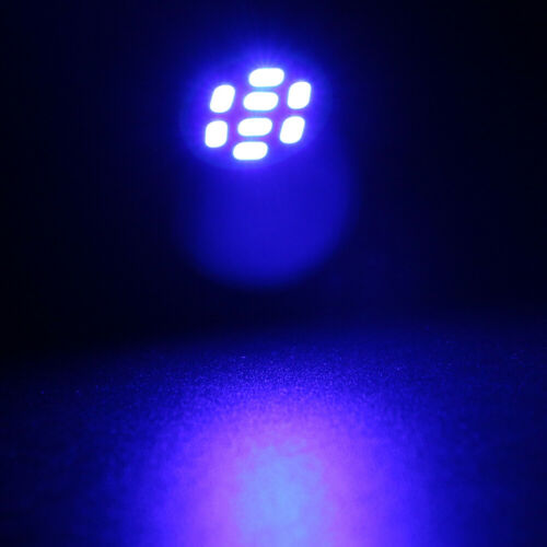 1000Pcs DC AC 6V 6.3V T10 W5W 168 194 8SMD 1206 LED Wedge Light bulb Nonpolarity