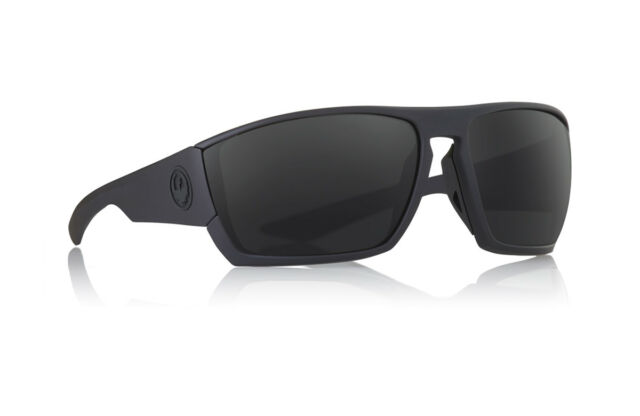 8f382c5aa74 New Dragon Cutback Sunglasses Matte Black H20 Smoke Polarized 35143-003 RRP   200