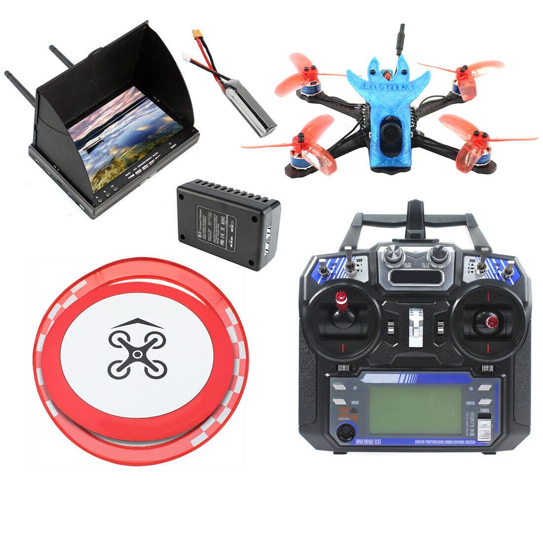disegni esclusivi QWinOut FPV Racing Drone Flycielo FS I6 I6 I6 Transmitter FS-A8S Receiver FPV Display  Sconto del 70% a buon mercato
