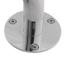 miniatura 4 - Winkelgriff für barrierefreies Bad 60/40 cm rechts montierbar, Edelstahl 25 mm