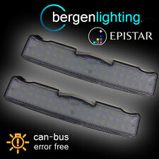 FOR BMW X3 F25 2010 On 44 LED INTERIOR ROOF COURTESY FRONT LIGHT LAMP PAIR