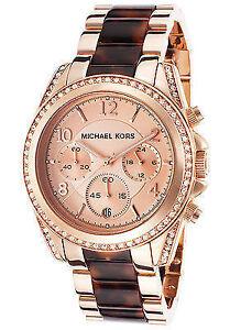 28c932d78cd0 Michael Kors Blair Rose MK5859 Wrist Watch for Women for sale online ...