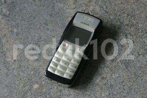 Billig Basic Nokia 1100 Handy (schwarz) mit Handbuch für Kinder Kind ältere