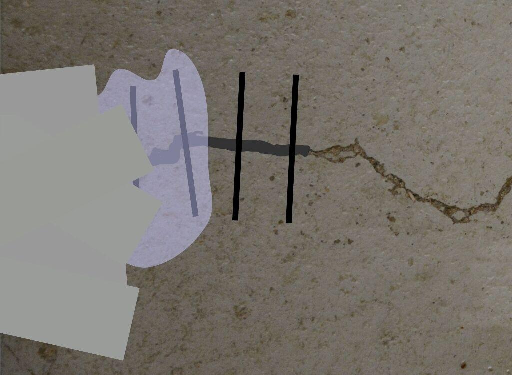 Epoxidharz beton estrich garagenboden risse ausbessern - Riss in fliese versiegeln ...