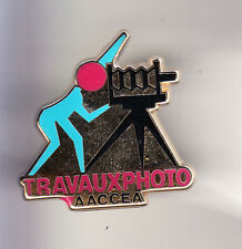 RARE PINS PIN'S .. TV RADIO PRESSE  PHOTO PHOTOGRAPHIE AACCEA ARTHUS BERTRAND~CF