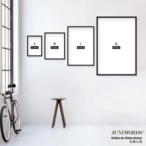 "JUNIWORDS Poster /""Cocktail Sex on the Beach/"" Bar Getränke Alkohol DIN A4 A3 A2"