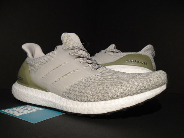 ADIDAS ULTRA BOOST 3.0 OLIVE COPPER PEARL Gris TRACE CARGO Blanc NMD BA8847 10