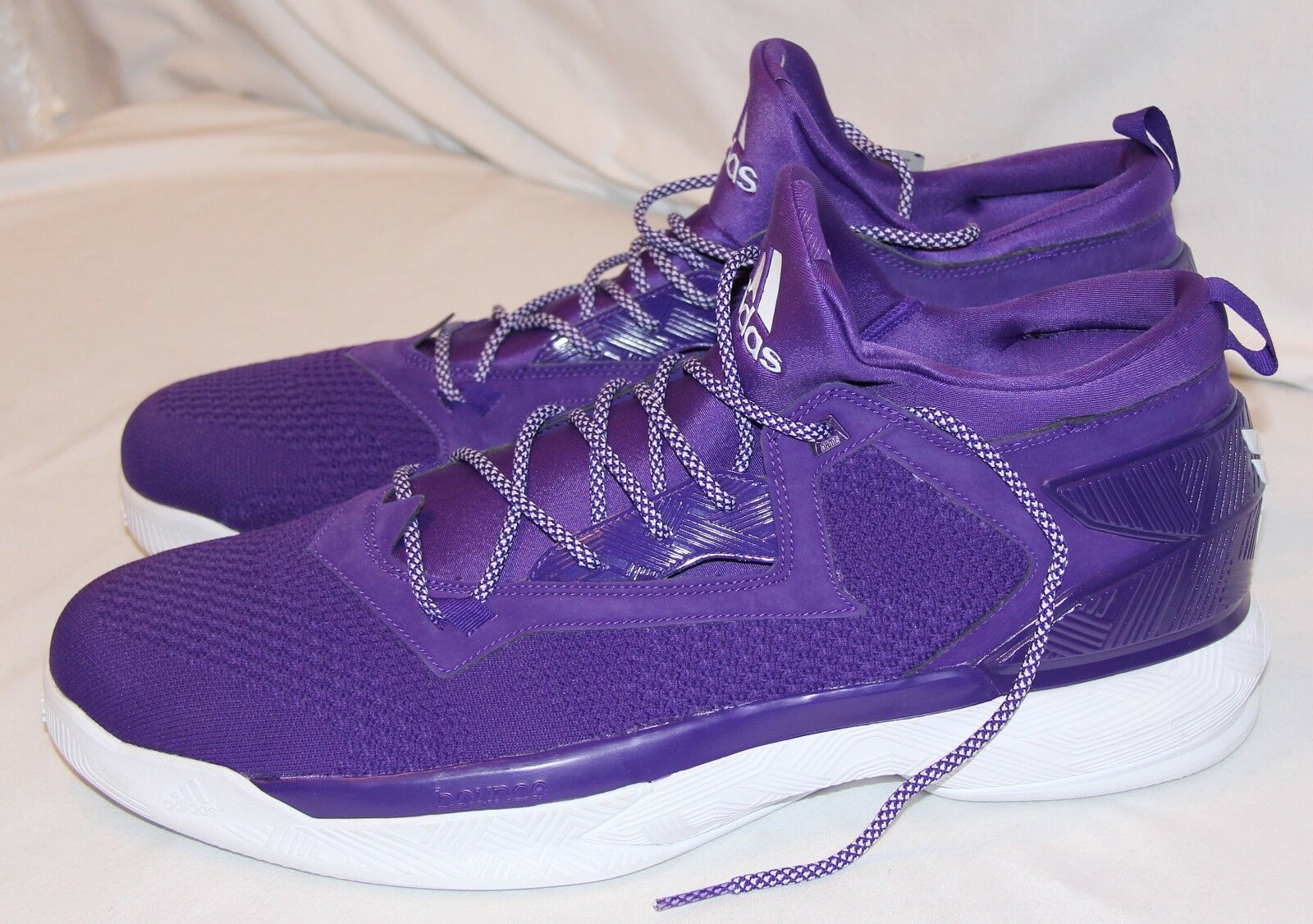 adidas  Violet  New homme Basketball chaussures 19 athlétique High Top