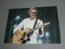 Mike Rutherford Genesis signed signiert autograph Autogramm 20x28 Foto in person
