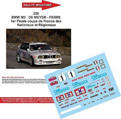 DECALS 1//43 REF 0855 PORSCHE 911 NANTET FINALE DES RALLYES 2004 RALLYE RALLY