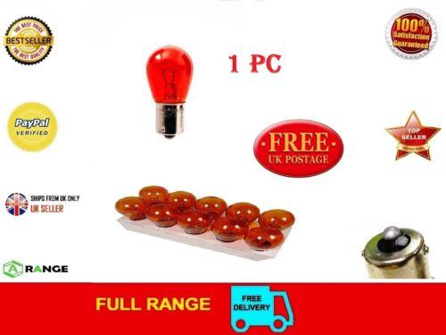 382 rouge 12 V P21W Voiture Stop Frein Queue Feu de brouillard seul Filament Ampoules BA15S Multi