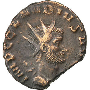 Cohen #124 Novel Designs #65618 Learned Claudius Antoninianus Billon 2.80 Famous For Selected Materials Au 50-53 Delightful Colors And Exquisite Workmanship