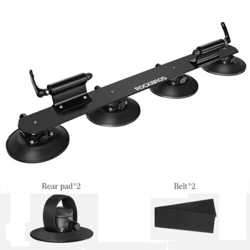 RockBros Bike Suction Rooftop Carrier Quick Installation Roof Rack Two-bikes New