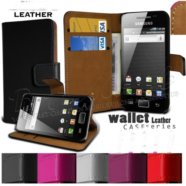 Luxury Real Leather Flip Case Wallet Cover For Samsung Galaxy S8 S7 S9