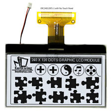 3white 240x120 Cog Graphic Lcd Module Displayparallelspi Serial Withtutorial