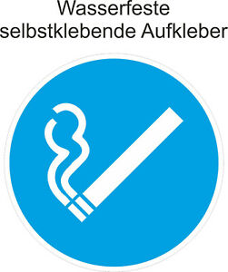 Rauchen-erlaubt-Gebaeude-Aufkleber-gestattet-Warn-Schild-Hinweiss-ab-5cm
